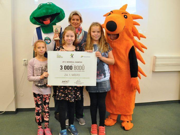 Jihomoravský kraj podpořil sběrovou soutěž. Děti z 217 škol při ní vybraly 9 346 kilogramů baterií, které byly předány k recyklaci