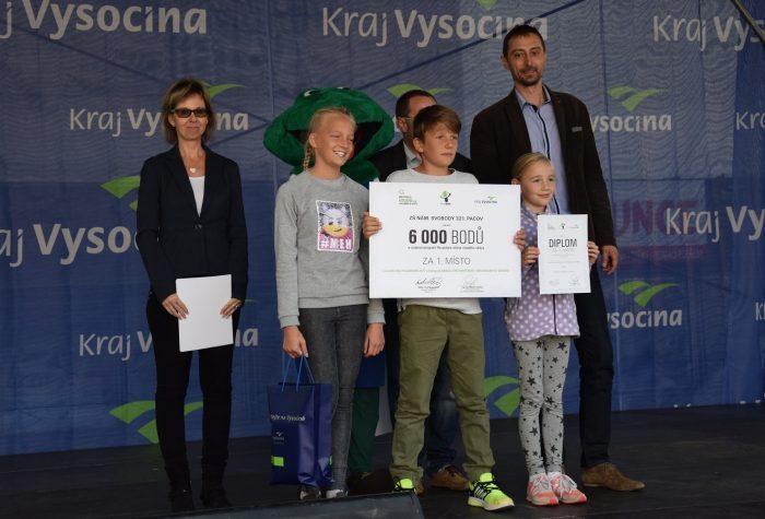 Kraj Vysočina podpořil sběrovou soutěž. Děti ze stovky škol při ní vybraly 7 111 kilogramů baterií, které byly předány k recyklaci