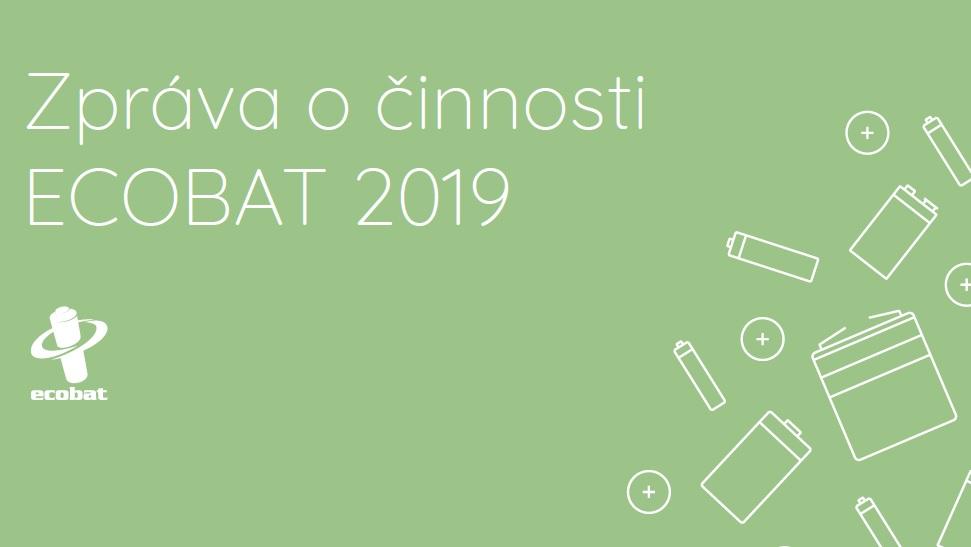 Zpráva o činnosti ECOBAT 2019